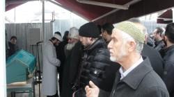Çeçen sığınmacı Kaim Turko Saduyev'in cenazesi Fatih Camii'nden kaldırıldı