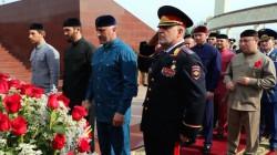 Çeçenya'nın resmi yas gününde baba Kadirov anıldı