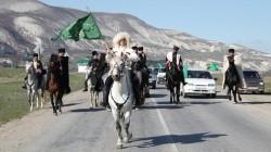 Kafkasya'da Çerkes Bayrağı Günü kutlandı