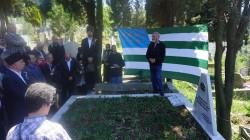 Pşımoho Kosok mezarı başında anıldı