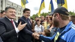 Saakaşvili Odessa'ya Vali oldu