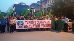 Kaffed, 21 Mayıs gezisinde Çerkesya söylemini kınadı