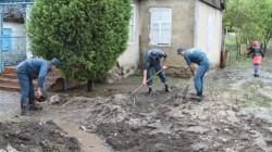 Kabardey-Balkar'da iki köy sular altında kaldı
