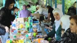 Kabardey-Balkar'da Suriyeli Çerkesler için yemek verildi