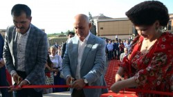Magas'da Şenlik Evi açıldı
