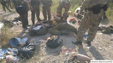 İnguşetya'da operasyon direnişçilerin naaşları_1_03082015