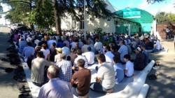 Hacimba'dan cami inşaatına destek