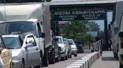 Rusya-Abhazya sınırında yoğunluk