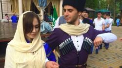Karaçay-Çerkes'te dans festivali