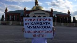 Çumakov'a destek protestoları