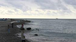Batum'da petrol kirliliği