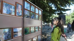 Güney Osetya'da bağımsızlık sergisi