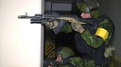 Çeçen ve Kazak birliklerden ortak tatbikat