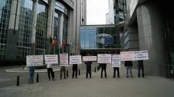 Avrupa'da Çumakov protestosu