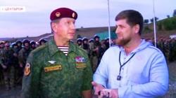 Putin'in güvenlik şefi Kadirov'u denetledi