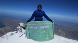Elbrus tırmanışını Adıge yazara adadı