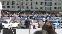 Kabardey-Balkar'da araba yarışı