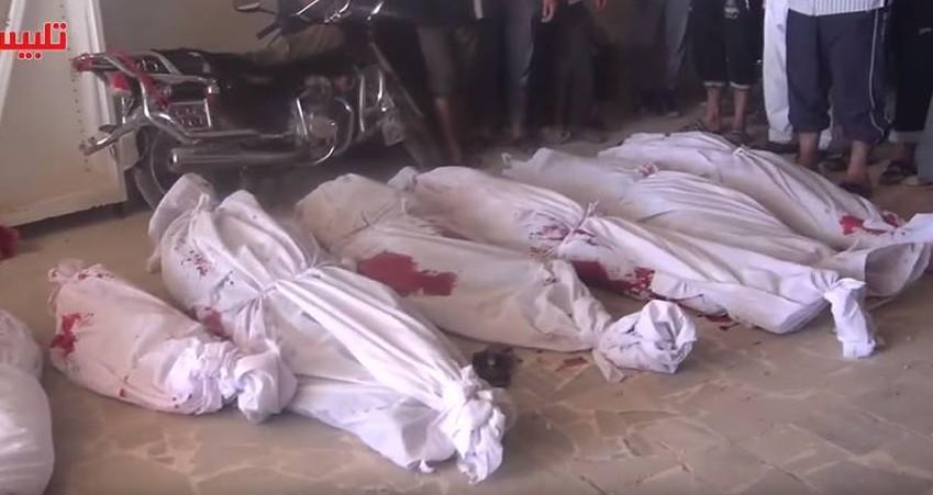 Suriye'de Rus uçakların yaptığı katliam_30092015