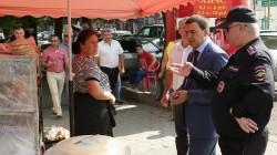 Nalçik'te seyyar satıcılara yasak