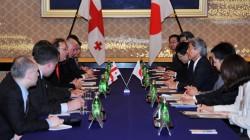 Gürcistan ve Japonya askeri alanda işbirliği yapacak