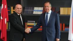 Sinirlioğlu Lavrov'la görüştü