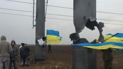 Kırım'da elektrik verildi