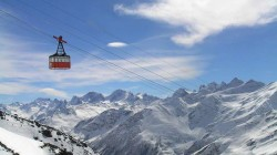 Avrupa'nın en yüksek teleferiği Kabardey-Balkar'da