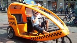 Magas'da bisiklet taksiler çalışacak