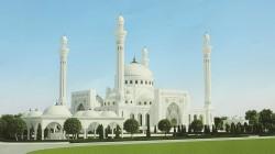 Çeçenya'da Şali şehrine yeni cami