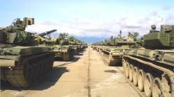 Rus tankçılarından Krasnodar Kray'da tatbikat