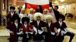 Güney Osetya çocuk dans ekibi birinci oldu