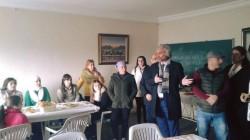 Mersin'de Suriyeli Çerkeslerle kahvaltı yapıldı