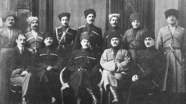 Kuzey Kafkasya Cumhuriyeti Liderleri