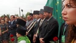 Rus-Kafkas savaşı kurbanları için anıt