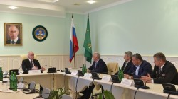 Abhazya için savaşan Adıgeylilere ödül töreni