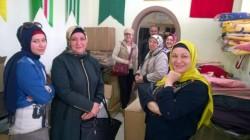 Gaziantep'te Suriyeli Çerkeslere yardım