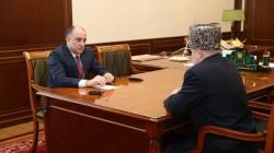 Kokov Uluslararası İslam Misyonu başkanı ile görüştü