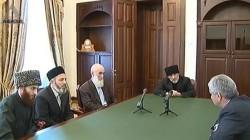 Hacimba Abhazya Müslümanları Din İdaresi temsilcileri ile görüştü