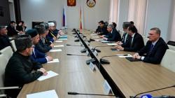 Kuzey Osetya başkan vekili Müslümanlar liderlerle görüştü