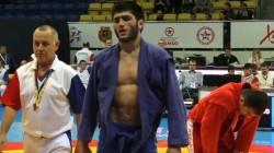Kabardey-Balkarlı sporcu sambo şampiyonu oldu