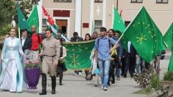 Adıge Bayrak Günü ilk defa Abhazya'da kutlandı