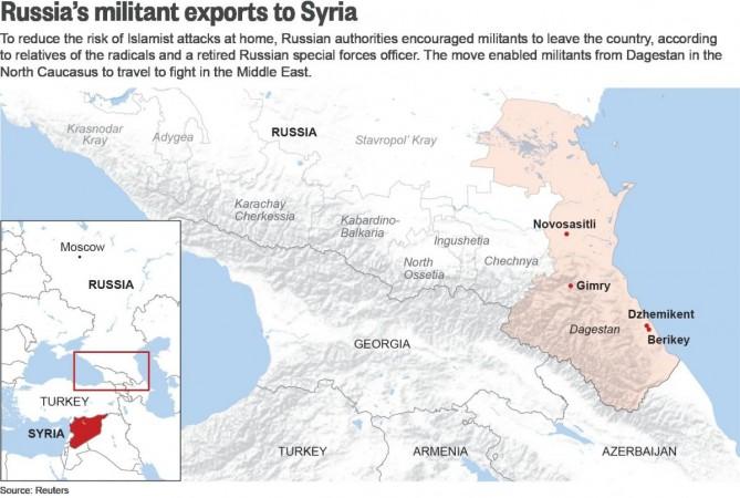 RUSSIA-MILITANTS