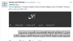 İŞİD, Türk askerleri biz kaçırdık