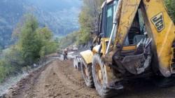 TİKA'dan Gürcistan'daki köylere yol desteği