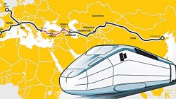 'Uluslararası Asya Demiryolu Koridoru'nun ilk etabı açıldı