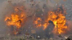 Çeçenya'da canlı bomba kendini patlattı