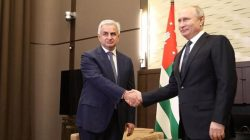 Hacimba ve Putin Soçi'de görüştüler