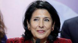 Gürcistan'ın cumhurbaşkanı Zurabişvili oldu