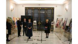 Suikast sonucu öldürülen Çeçen  aktivist Polonya'da anılıyor