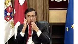 Şaakaşvili, 2008'de kravatını neden yediğini anlattı: Henüz çocukken kravatlara karşı bir zaafım vardı